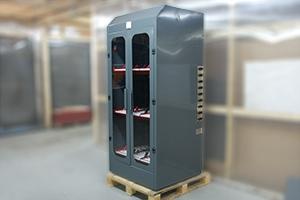 Шкаф для заряда и хранения 9 аккумуляторных батарей без зарядного устройства