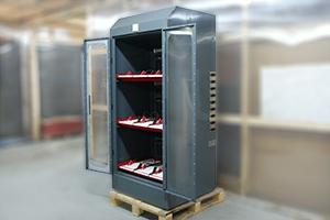 Шкаф для хранения 9 аккумуляторных батарей серии Светоч-03-09