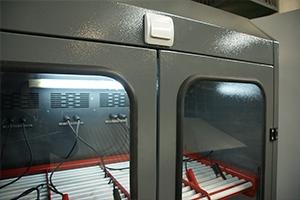 Внешний вид верхнего яруса шкафа Светоч-03-12