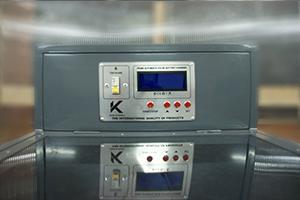 Панель управления зарядно-разрядным шкафом серии Светоч-04-01