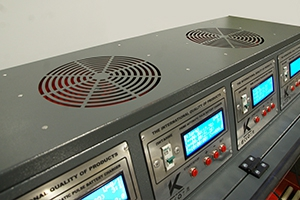 Фото системы охлаждения зарядных плат шкафа серии Светоч-04