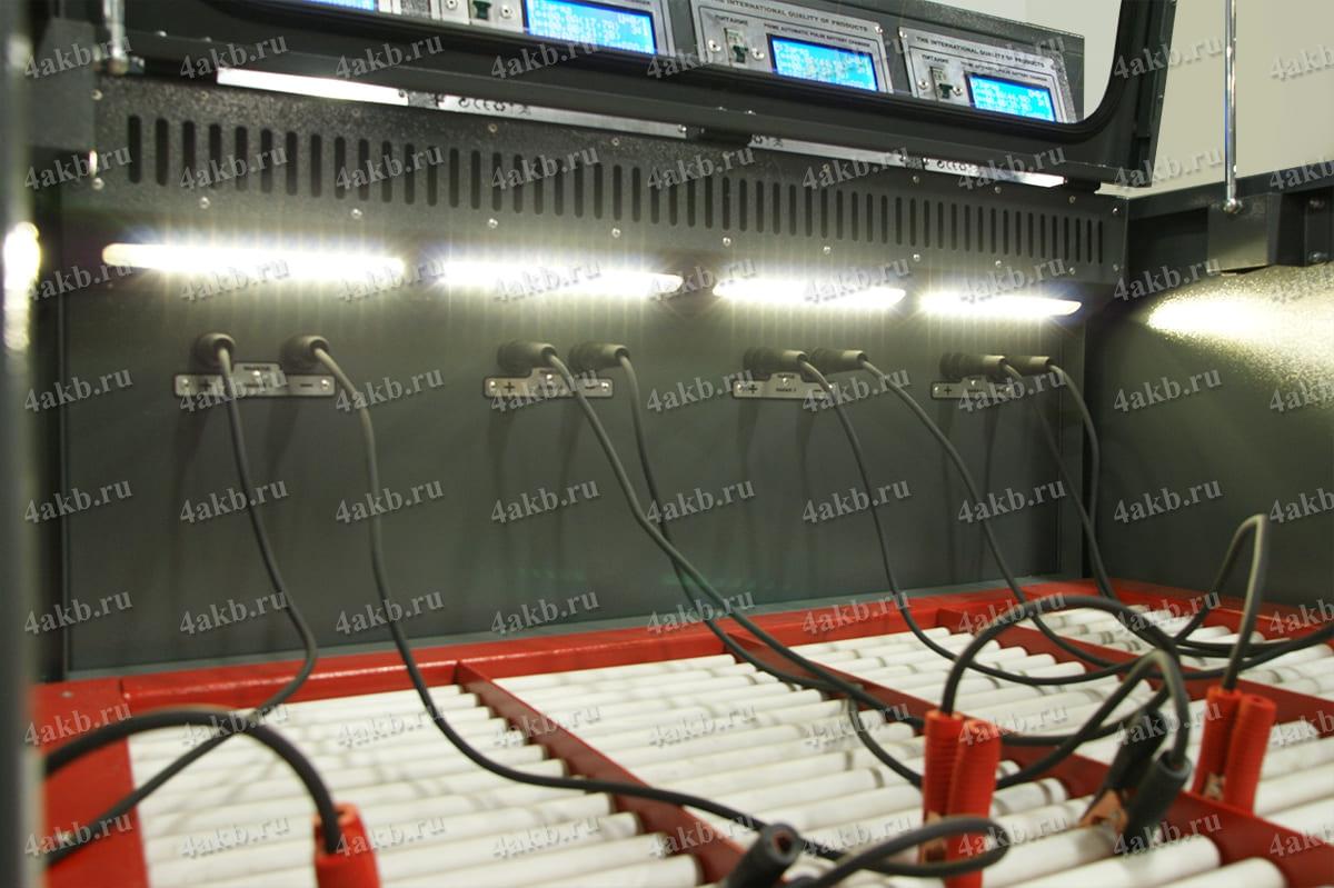 Фото шкафа для зарядки аккумуляторов Светоч
