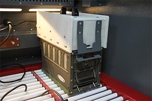 Фото освещения шкафа аккумуляторов