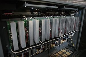 Фото зарядных плат шкафа серии Светоч-авиа 2016 года выпуска