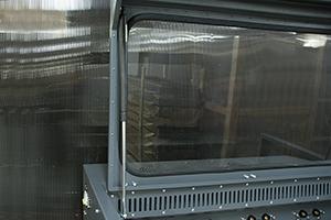 Фотография защитной крышки шкафа серии Светоч-авиа 2016 года выпуска