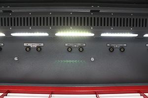 Освещение металлического шкафа для заряда Светоч-04-06.ЖК общего вида