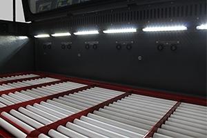 Фото разъемов металлического шкафа  для заряда аккумуляторов