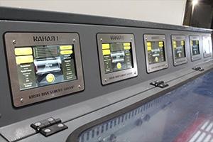 Фото сенсорных дисплеев шкафа для заряда Светоч-04-06.ЖК