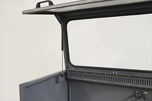 Газлифта для поднятия панорамной дверцы