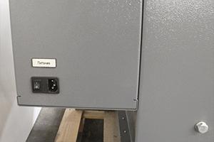 Управление питанием зарядно-десульфатирующего шкафа