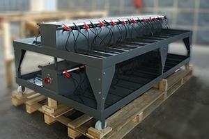 Зарядно-подзарядная тележка для одновременного обслуживания до 40 АКБ
