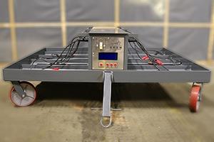 Панель управления зарядно-подзарядной аккумуляторной тележкой