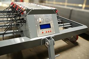 Панель управления зарядно-подзарядной тележкой
