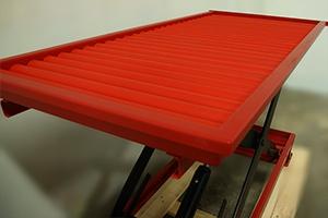 Роликовая подъемная платформа аккумуляторной тележки
