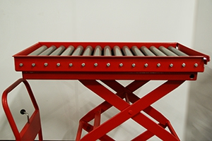 Роликовая платформа установленная на тележке 05.Т.034.02-9.001