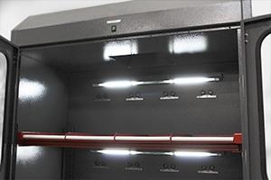 Фото освещения установленного в шкаф Светоч-03-12 М
