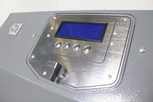 Фотография панели управления устройством