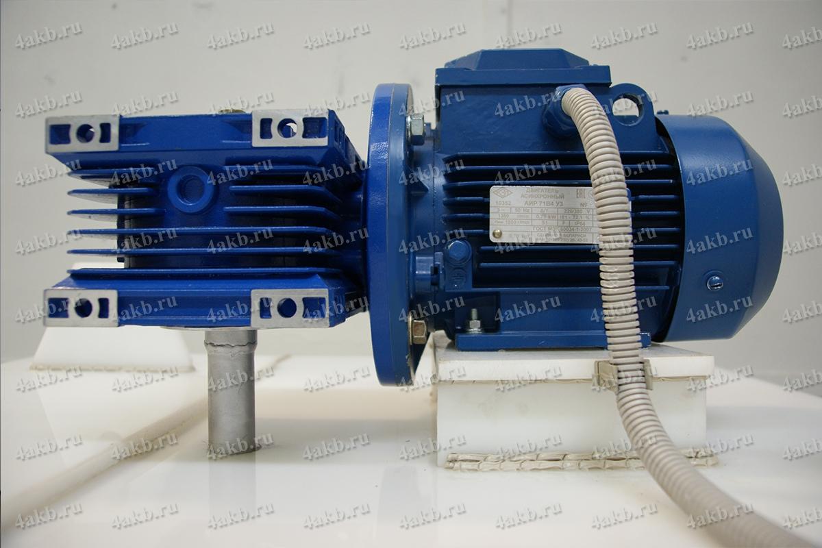Мотор редуктор установленный на УДЭ-02