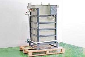 Фото установки для приготовления и дозирования кислотного электролита