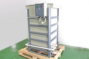 Общий вид устройства для приготовления электролита