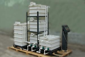 Внешний вид комплекта регенерации и доводки кислотного электролита
