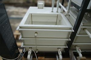 Внутренний вид полипропиленовой емкости предназначенной для хранения электролита