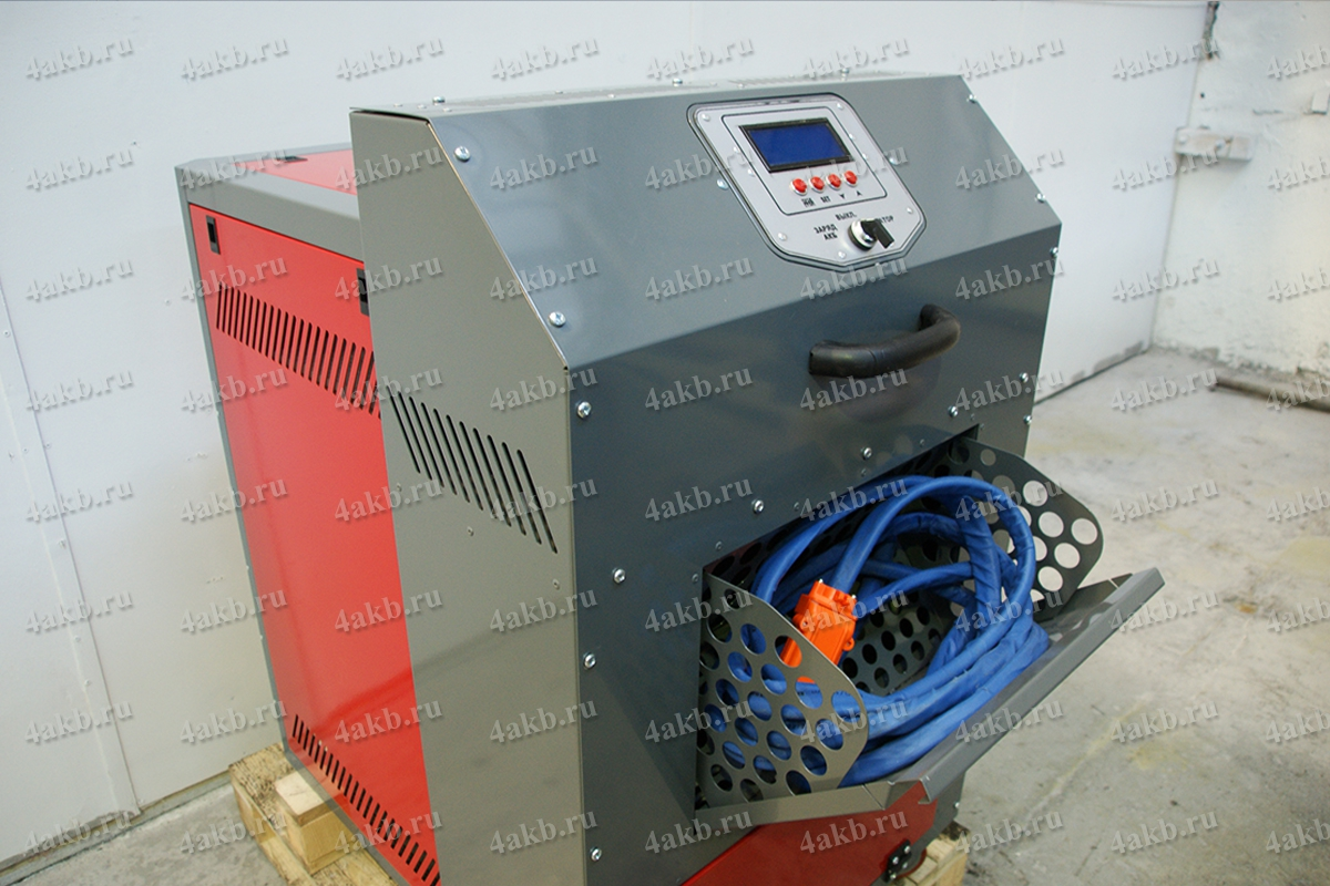 Отсек для хранения шланга вакуумной установки