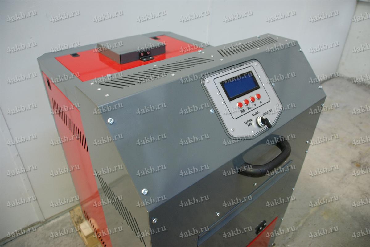 Вакуумная установка для заливки электролита вид сверху
