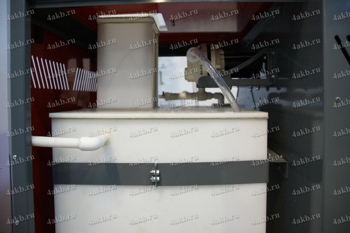 Полипропиленовая емкость для хранения электролита