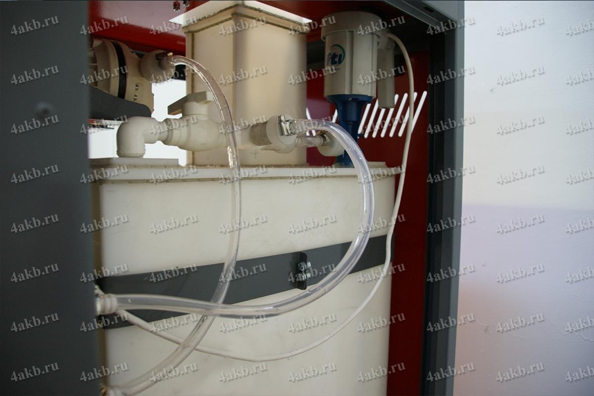 Шланги и мотор для перекачки электролита
