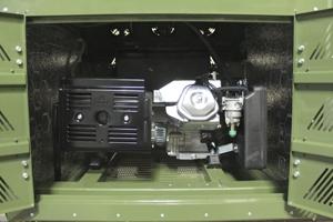Фото встроенного дизельного генератора