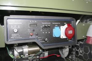 Панель подключения пуско-зарядного устройства ППЗУ-4К