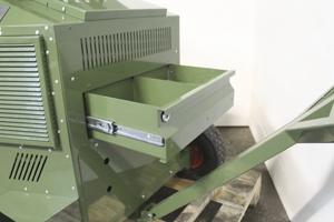 Металлический выдвижной ящик устройства ППЗУ-4К