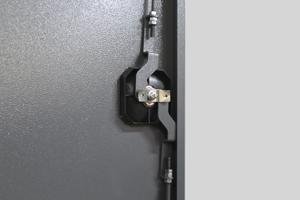 Фото ригельной системы навесных дверей