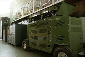 Выставочный зал зарядных устройств производства компании KRONVUZ
