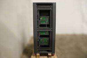 Фото зарядных плат  выпрямителя ВЗА-110-110 вид сзади