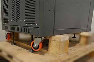 Фото колес и стоек для фиксации  выпрямителя ВЗА-110-110