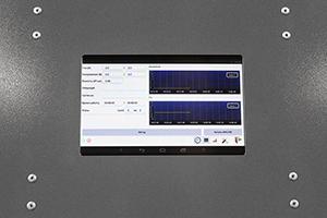 Фото сенсорной панели управления выпрямителя ВЗА-Р-Р