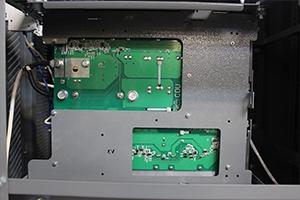 Фото установленной зарядно-разрядной платы выпрямителя ВЗА-Р-Р