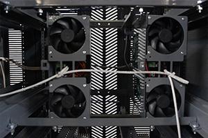 Фото вентиляторов системы охлаждения выпрямителя ВЗА-Р-Р