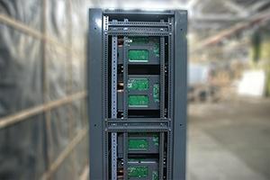 Структура зарядно-разрядных модулей внутри выпрямителя серии ВЗА