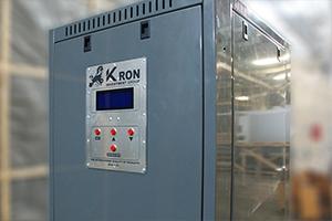 Панель управления зарядно-разрядным выпрямителем серии ВЗА