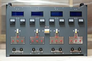 Панель управления автоматизированным зарядным выпрямителем серии ВЗА