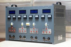 Автоматизированное зарядное устройство серии ВЗА вид сбоку