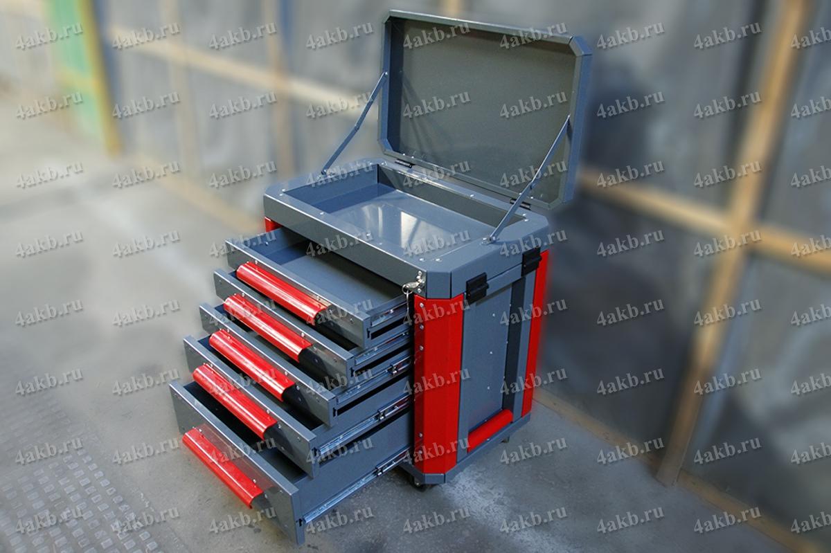 Ящик для хранения комплектов аккумуляторщика
