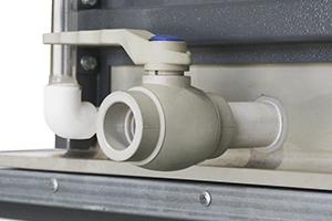 Трубная конструкция для подачи дистиллированной воды