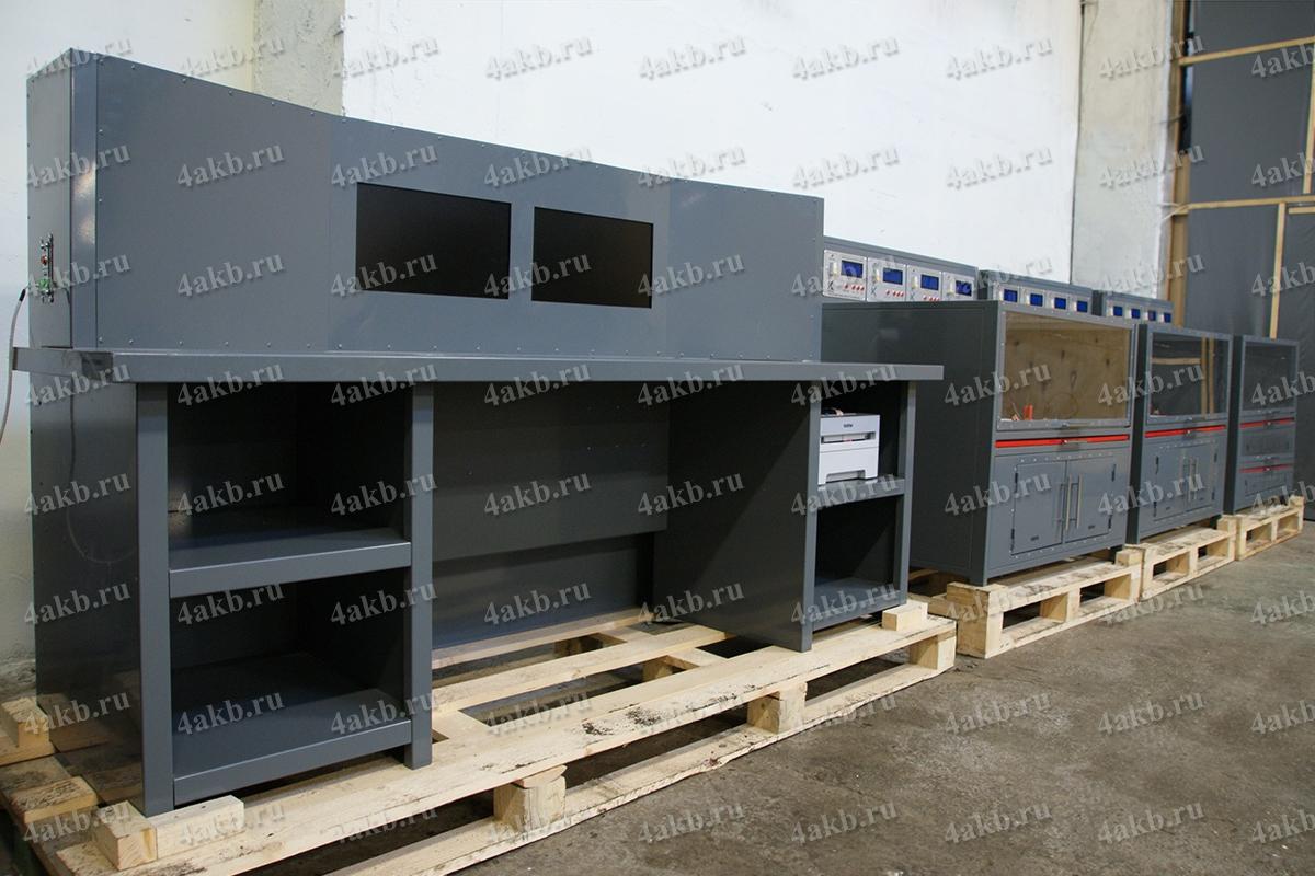 Зарядно-разрядные шкафы в составе зарядного комплекса