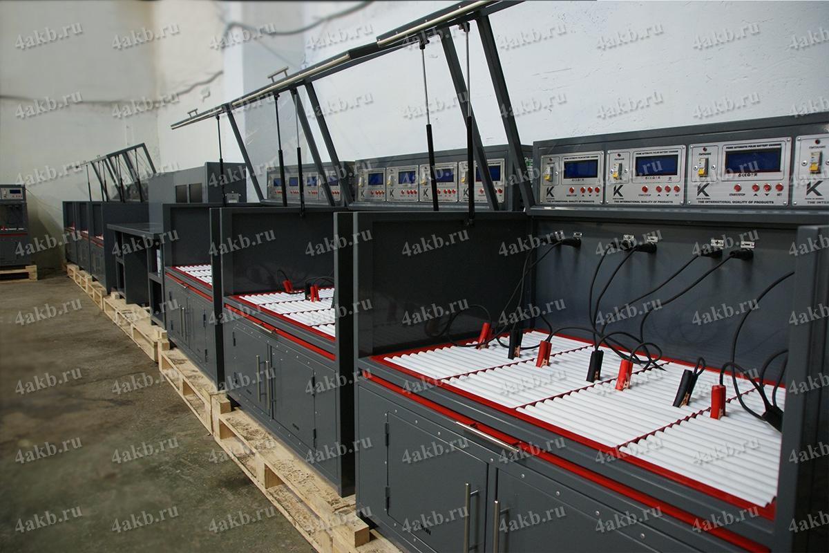 Шкафы Светоч-04-04 в составе зарядного комплекса