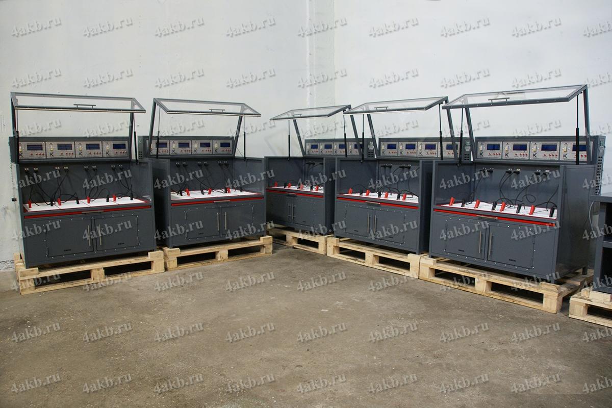 Шкафы Светоч-04-04 в составе зарядно-разрядного комплекса