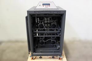 Расположение зарядных модулей внутри изделия УЗА-150-80